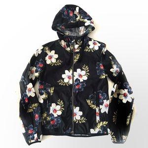 Zara Men's Floral Lightweight Jacket